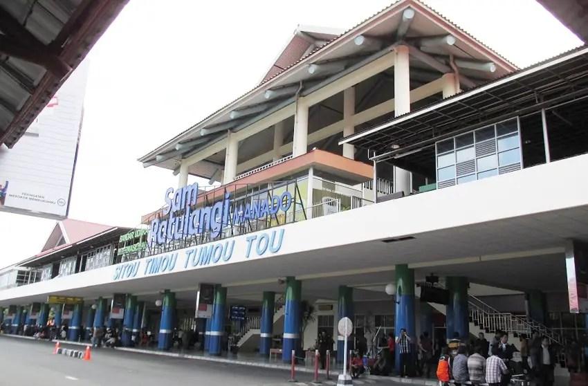 bandara internasional sam ratulangi manado