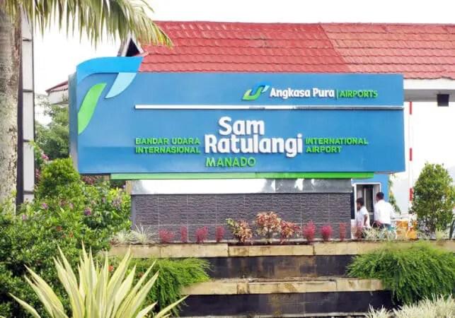 bandara sam ratulangi - Bandara Internasional Manado