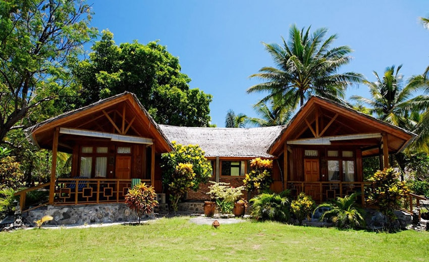 bungalow di gangga island