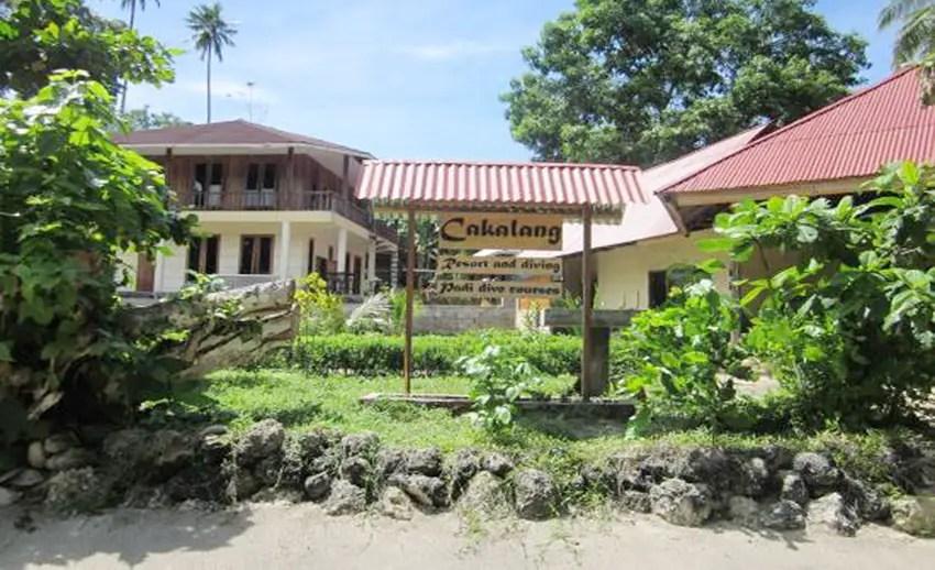 cakalang resort bunaken, resort murah di Bunaken