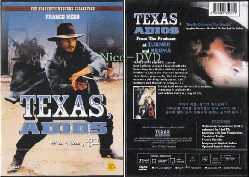 film texas adios, pemeran utama franco nero