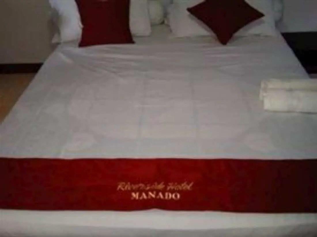 Kamar - hotel riverside manado