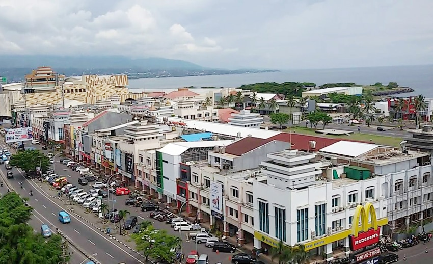 Manado Waterfront City Berkelas Dunia