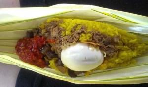 Nasi Kuning Saroja, Hmm Sedaapnya…