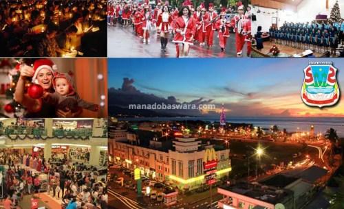 Damai dan Gempita Natal di Manado