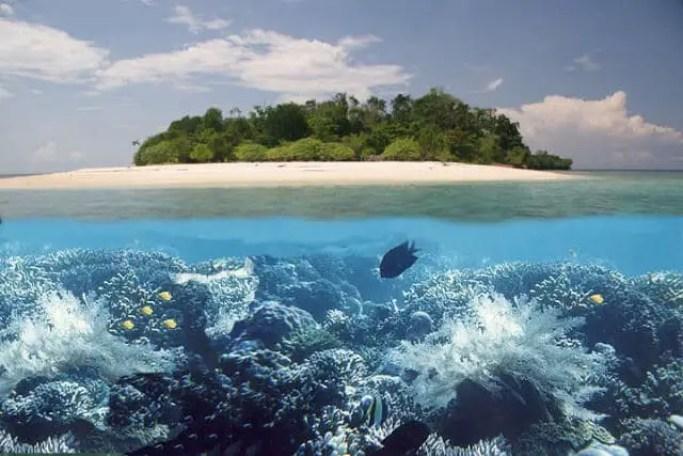 pulau lihaga yang indah