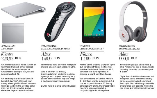 Revista Online NOV - Shop GADGET 2