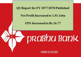Prabhu Bank Q2 Report Published