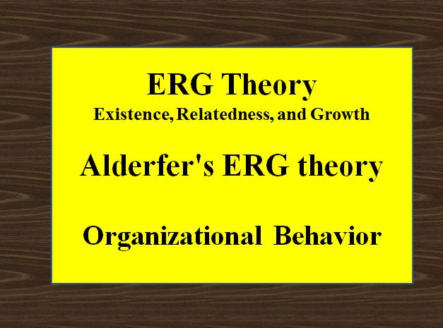 ERG Theory