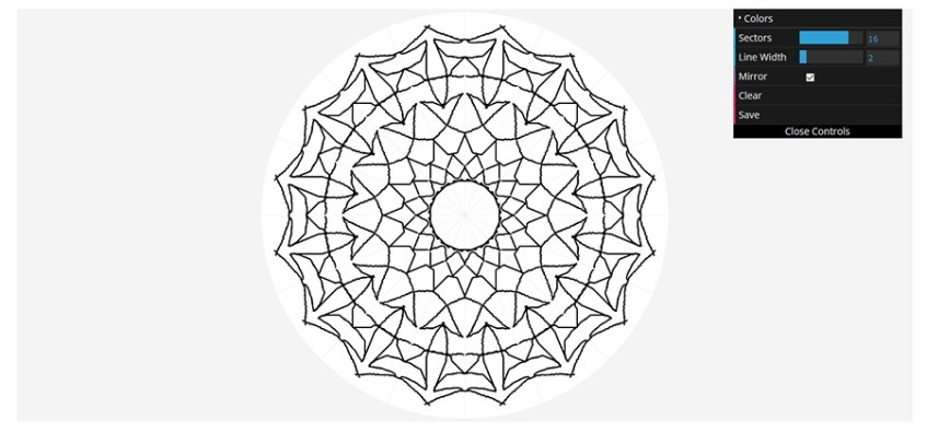 Program Mandala Maker.