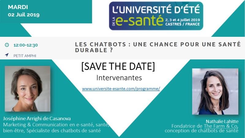 UNIVERSITE E SANTE 2019 Joséphine ARRIGHI DE CASANOVA Juillet 2019 Validation 19 05 2019