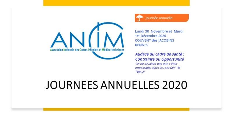 JOURNEES ANNUELLES 2020