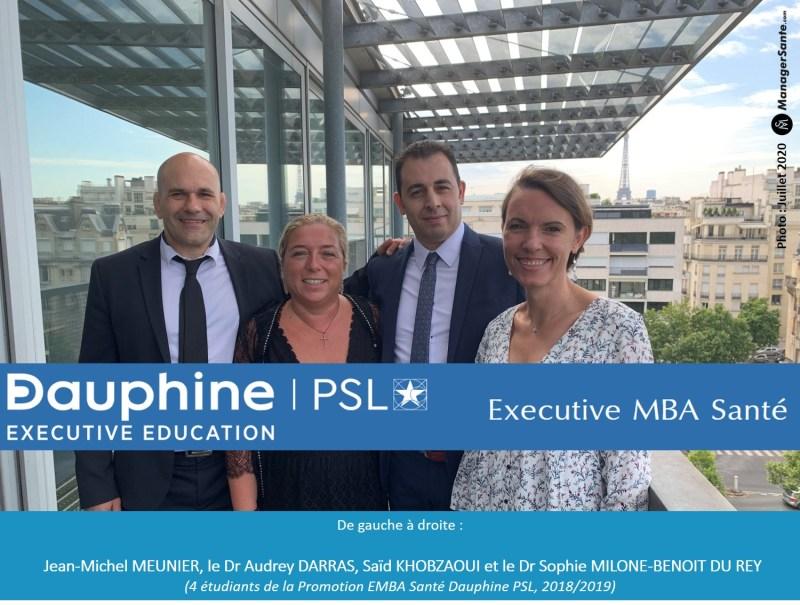 Photo Groupe EMBA Santé Dauphine 2019