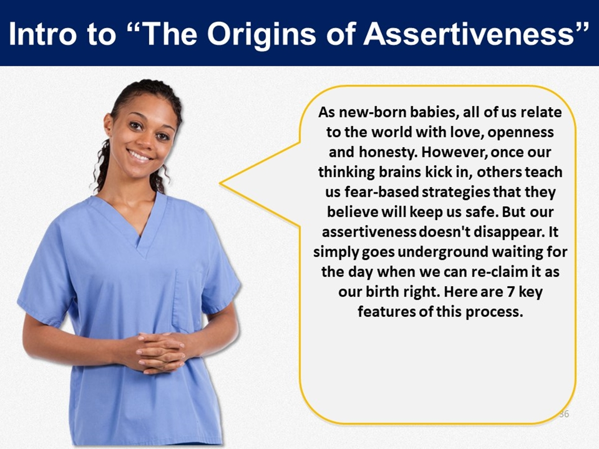 Mtl Course Plans The Origins Of Assertiveness