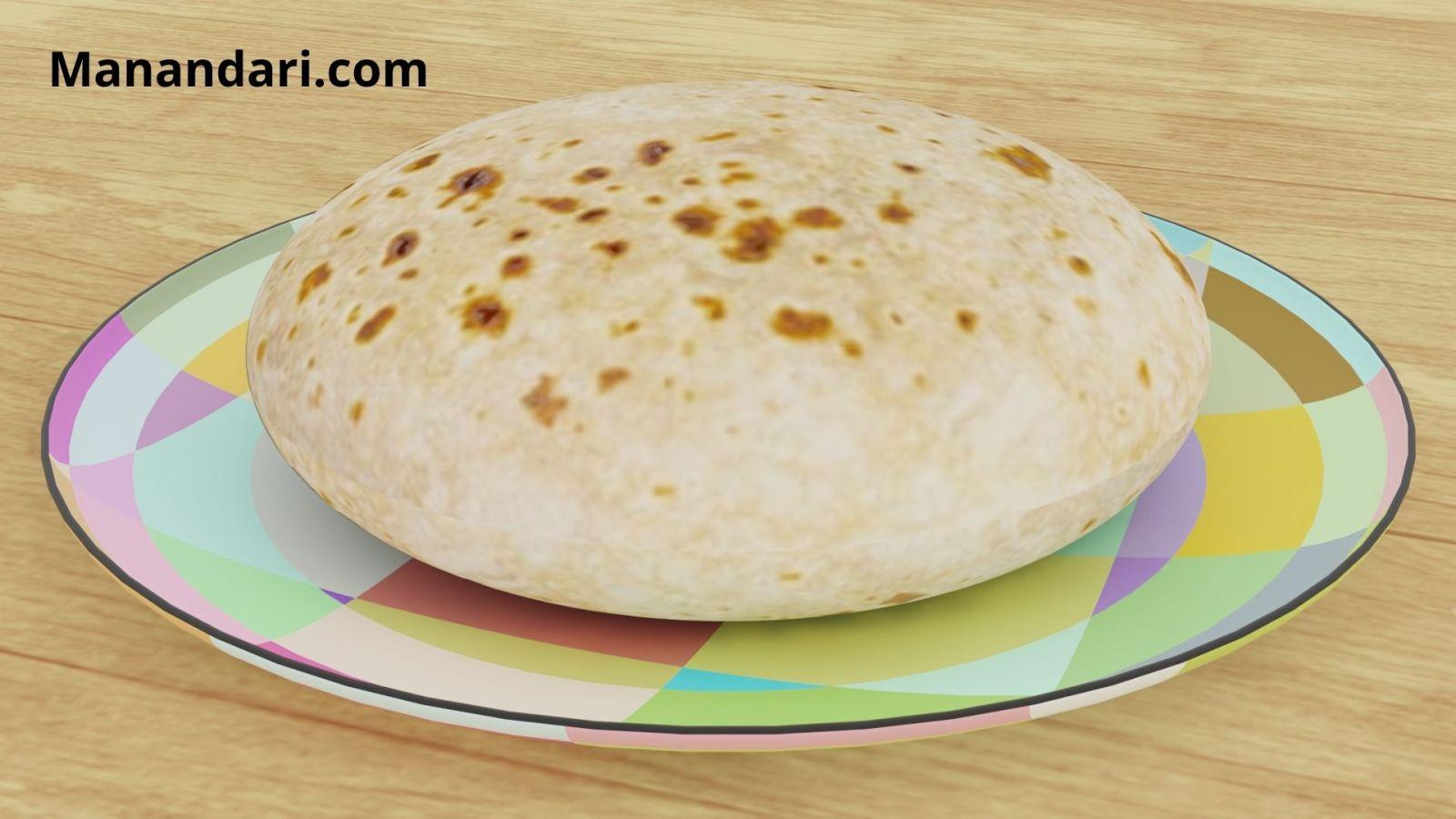 Chapati - Blender - Cycles