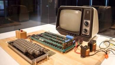 أول كمبيوتر لشركة أبل بمزاد علني