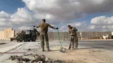إيران قصفت قاعدة عين الأسد