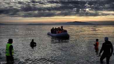 مهاجرين الى يونان