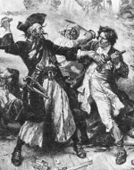 blackbeards battle from Wikimedia commons