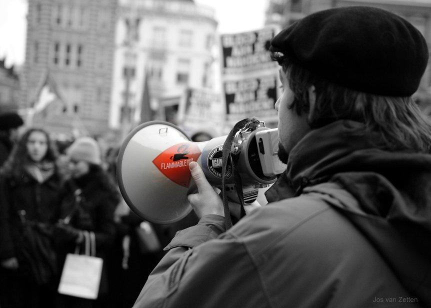 Gaza protest Amsterdam by Jos van Zetten (CC BY 2.0)