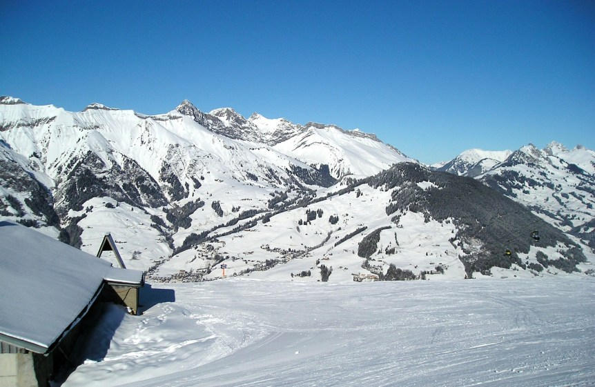 Mountains near Château-d'Oex. (c) E. Forrest Christian