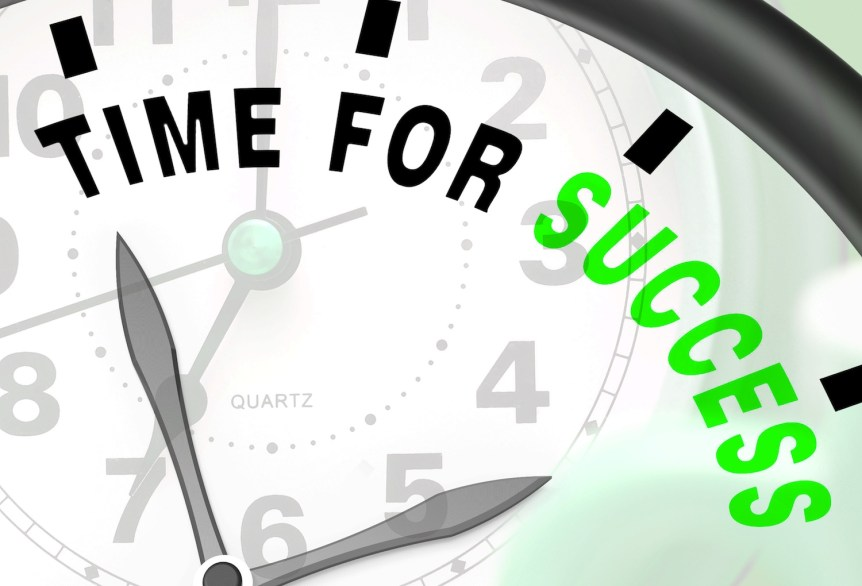 Time for success!