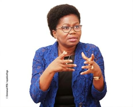Mme Victoire Tomagah Dogbé bon - Interview /Mme Victoire Tomegah-Dogbé : « Le FNFI est la réponse du Gouvernement… à l'exclusion financière qui touche une partie importante de la population togolaise »