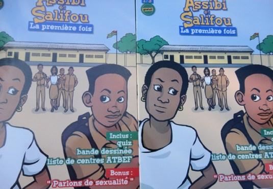 Bande dessinée bon - « Assibi et Salifou » : la bande dessinée qui sensibilise les jeunes sur leur santé sexuelle