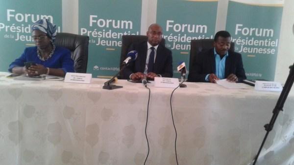 Forum présidentiel de la jeunesse2