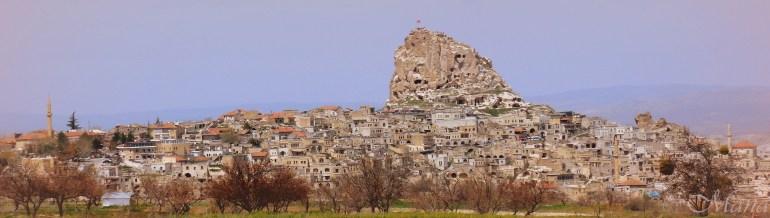 Uçhisar Castle - Cappadocia