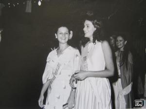 Cati Cobo y Mari Cano en 1976