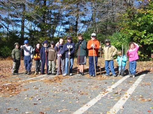 scout troop clean up volunteer manchaug