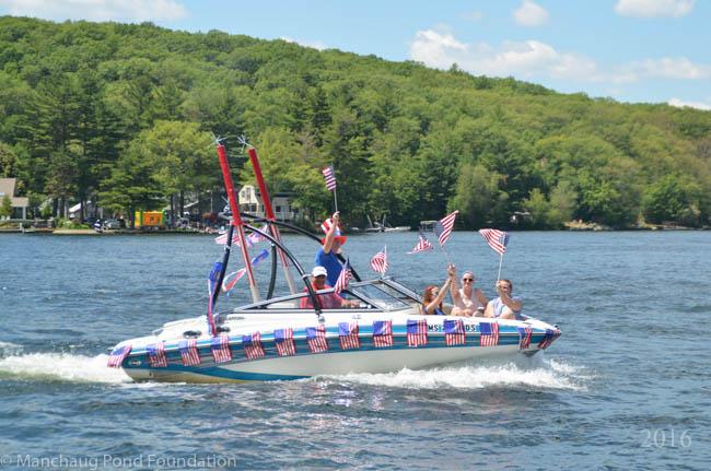 Manchaug Pond Foundation Boat Decorating Contest 2016