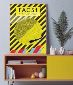 The Hacienda wall poster art