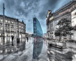 Craig Baker Photo of the Urbis building/Football Museum, Manchester.