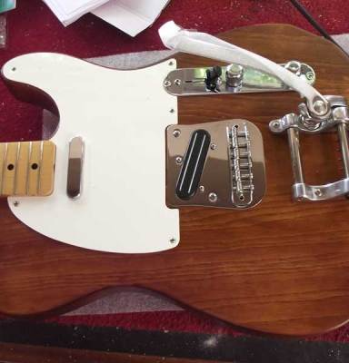 Telecaster build for Matt