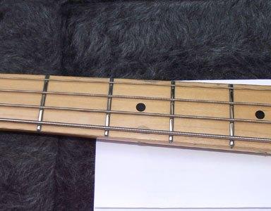 Fender Precision Bass partial refret