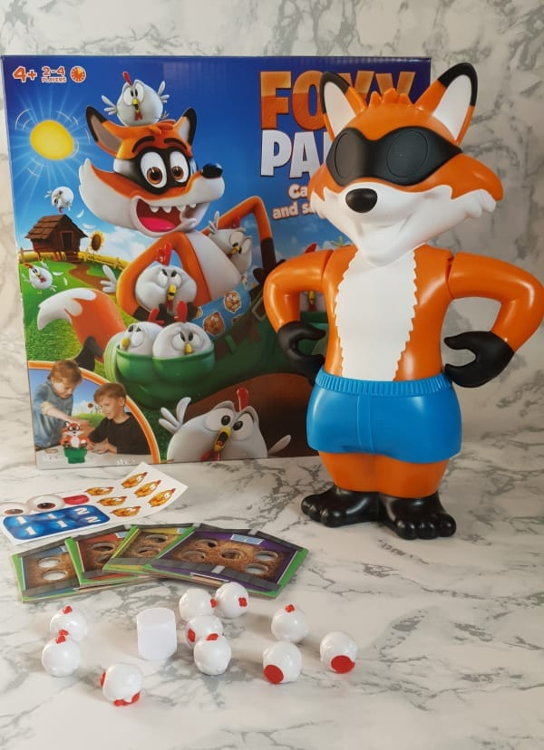 Win a Foxy Pants Game