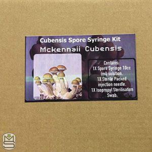Cubensis Spore Syringe Kit – Mckennaii
