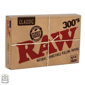 RAW – 300s 1 1/4 Rolling Papers