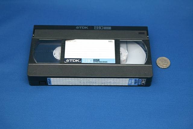 VHS video to DVD conversion service