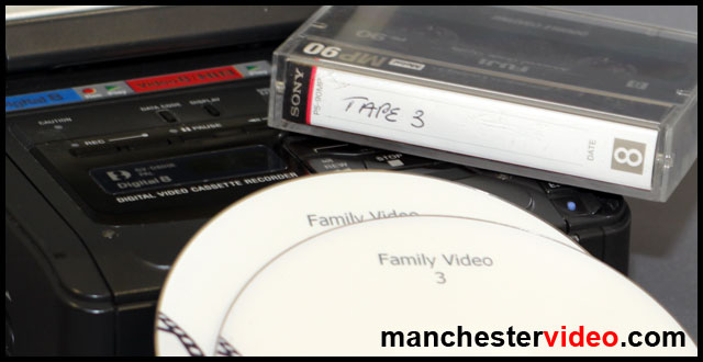 Video tape with DVDs