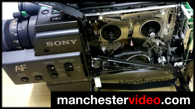Tape Stuck In Camcorder Manchester Video Limited