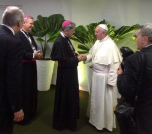 dom aldo e o papa