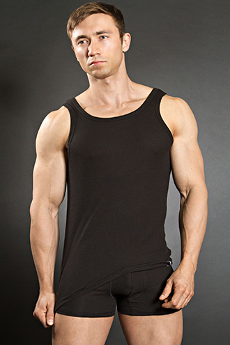 Bruno Banani Cotton Line Sports Shirt Black