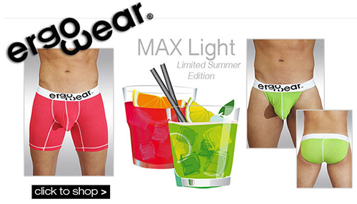 Ergowear Max Light Limited Edition Range at Dead Good Undies