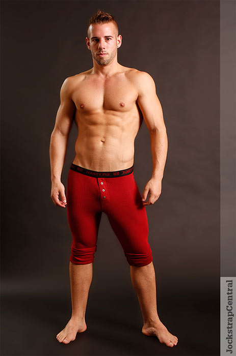 jsc nasty pig long johns red