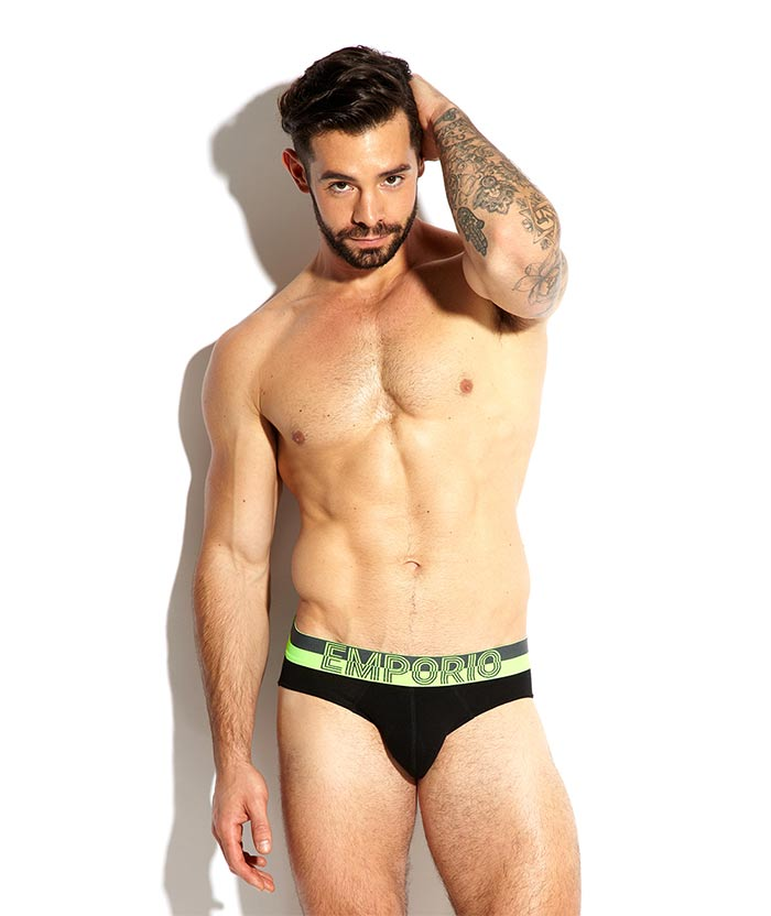 charlie king towie in emporio armani briefs underwear