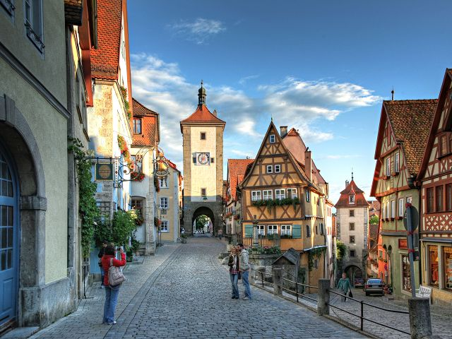 Escorted motorhome tour: Germany's Romantic Road