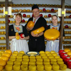 European Escorted Motorhome Tour Springtime in Holland: Cheese Factory